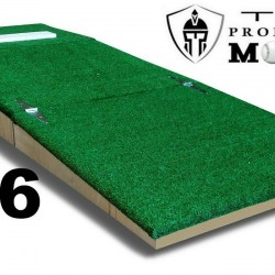 6 Inch Portable Youth Baseball Pitching Mound w Modular Base for Ages 8-12   12U
