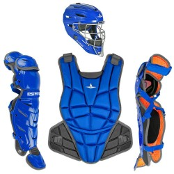 All-Star AFx Series Fastpitch Softball Catcher's Package - Royal - Medium