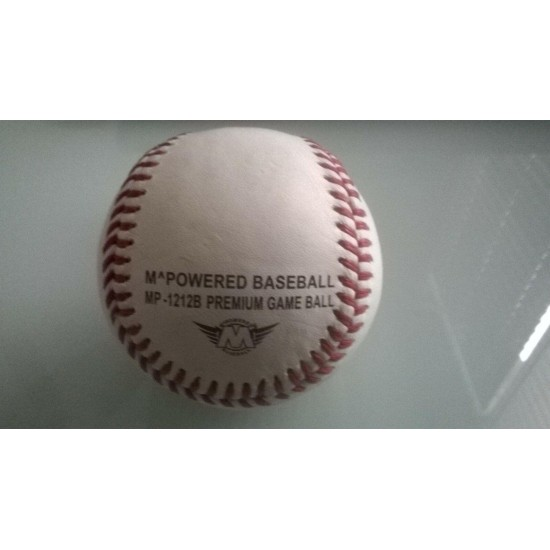 10 DOZEN 1212B SPECIAL MAKEUP GAME/PRACTICE  LEATHER BASEBALL 20% wool MLB CORE