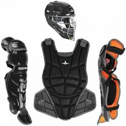 All-Star CKWAFXMED AFX Fastpitch Softball Catching Kit Medium Black