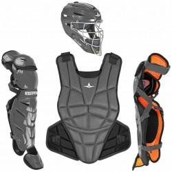 All-Star CKWAFXMED AFX Fastpitch Softball Catching Kit Medium Graphite