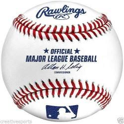 1 DOZEN - QTY 12 - MLB RAWLINGS OFFICIAL MAJOR LEAGUE BASEBALLS ** SELIG ** SALE