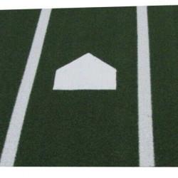 6' x12' Synthetic Grass Turf Baseball Softball Batting Practice Hitting Cage Mat