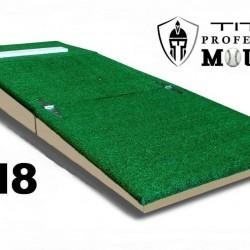 8 Inch Portable Baseball Pitching Mound w/ Modular Base Ages 12-15