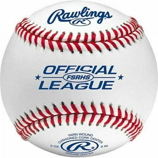 (356) Rawlings 2020 FSRHS Flat Seem Game Ball 10 Dozen 120 baseballs.