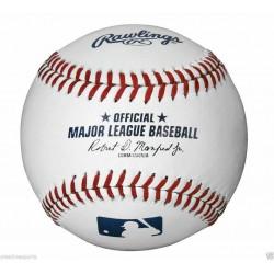 1 DOZEN RAWLINGS OFFICIAL LEATHER MAJOR LEAGUE BASEBALLS MLB - QTY 12 ** MANFRED