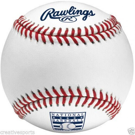 1 DOZEN RAWLINGS OFFICIAL LEATHER NATIONAL BASEBALL MLB HALL OF FAME MANFRED