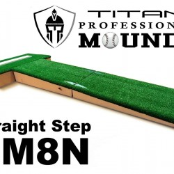 8 Inch Portable Travel Youth Baseball Pitching Mound w Modular Base Ages 12-15