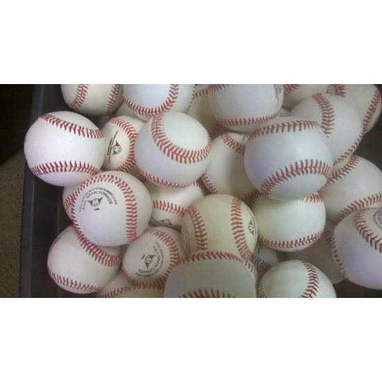 20 DOZEN closeout cosmetic blem ALL LEATHER GAME BASEBALLS PRICED TO SELL FAST!