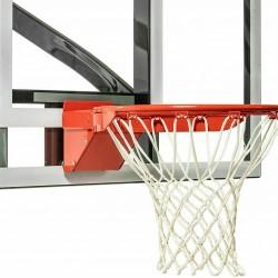 Breakaway Single Spring Basketball Rim Nylon Net Mounting Hardware Back Plate