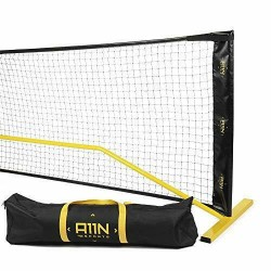 A11N Portable Pickleball Net System, Designed for All Weather Conditions with St