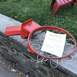 Bison ProTech Competition Breakaway Goal - Basketball Hoop BA35 ($200 or $150)