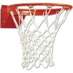 Bison Pro Breakaway Rim for Basketball Gymnasium Backboard for NCAA or NFHS play