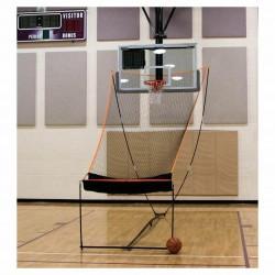 BowNet Basketball Returner Portable Net with Carry Bag - Bow-Basketball