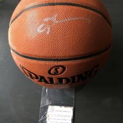 Allen Iverson Signed Basketball