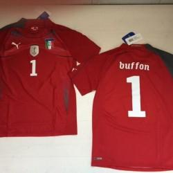 0909 Buffon PUMA Italy T-Shirt Authentic Italy Match 2010 Shirt Jersey