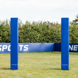 6ft Rugby / Football Post Protectors | 3in PVC Post Protectors | Sets of 1 or 4