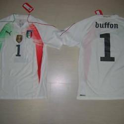 0898 14 Years Italy T-Shirt Child Goalkeeper Junior Shirt Jersey