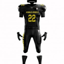 American Football Uniforms Custom Sublimation 10 Set Pant and Jersey All Sizes