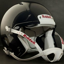 ADULT LARGE Riddell SPEED Football Helmet (GLOSS NAVY) with S2BD-SW-SP Facemask
