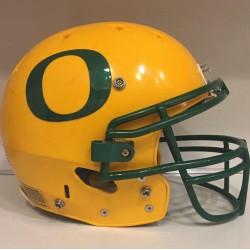 2009 OREGON DUCKS Schutt DNA Throwback Yellow Football Helmet Civil War