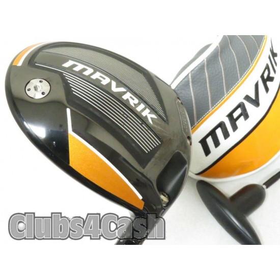 Callaway Mavrik Driver 9* OBAN Devoition 6  65G 04 Stiff Flex +Cover & Tool