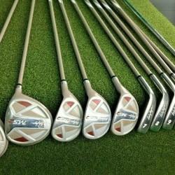 Lady Hagen IMS2 Golf Set 1w,3w,4h,5h,6h,7-PW+SW,Putter + HC's  RH Ladies /mm4369