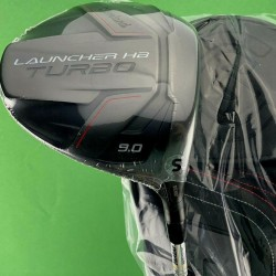 Cleveland Launcher HB Turbo Driver 9* Stiff S-Flex Miyazaki 5S + Cover #80900