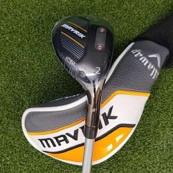Callaway Mavrik Pro 18* 2 Hybrid, RH, Fubuki TM6 Stiff Graphite Shaft, NEW!!!
