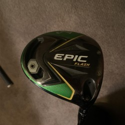 Callaway Epic Flash Driver ($250 Shaft Must See!)