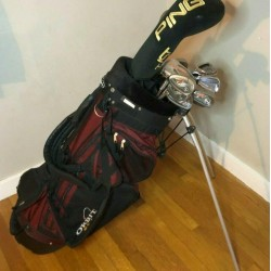 High End Mens Complete Golf Club Set & Bag, Lefty, Ping, Titleist, Callaway+More
