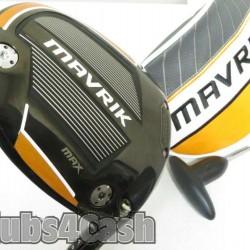 Callaway Mavrik Max Driver 12* UST Mamiya Helium +Cover & Tool .. MINT