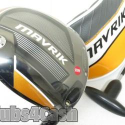 CALLAWAY Mavrik Driver 9* Even Flow RipTide 60G 6.0-S Stiff +Cover .. NEW