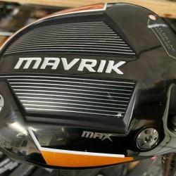 Callaway Mavrik Max 12* Driver with Even Flow Riptide 60g Stiff Flex 0710