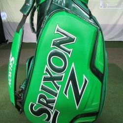 *Jerry Kelly Signed* Srixon Z Tour Staff Bag St. Patrick's Day Green 5 Way Top