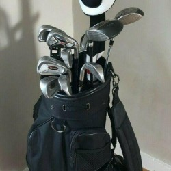 Complete Golf Club Set & Bag, Righty, Cobra, Titleist, Callaway & More + Extras