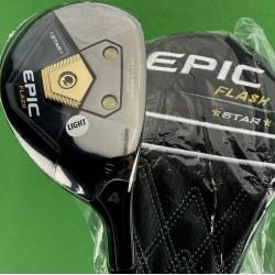 Callaway Golf Epic Flash Star Rescue 4 Hybrid 20* Attas 50 Senior A-Flex #73176