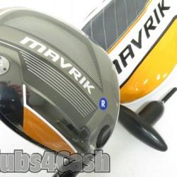 CALLAWAY Mavrik Driver 10.5* Even Flow RipTide 50G 5.5-R Regular  +Cover .. NEW