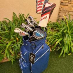 Callaway Regular Complete Golf Set +Bag,FT-5 Driver,XHot Wood,X 20 Irons,Putter
