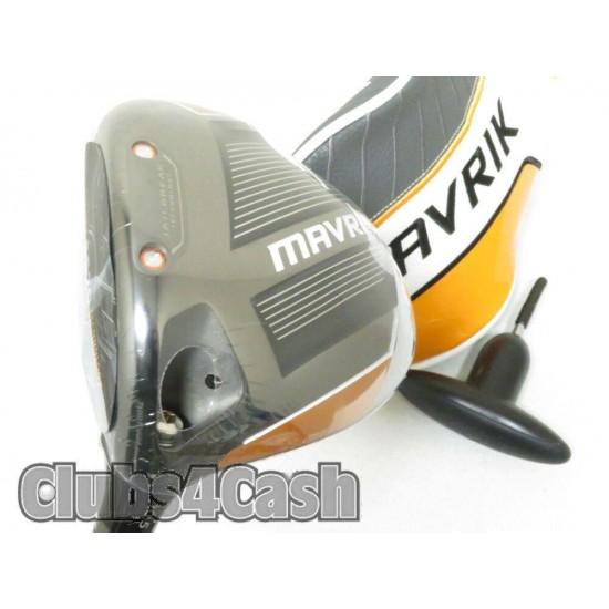 Callaway Mavrik Driver 10.5* Mamiya Helium F3 +Cover .. LEFT LH  NEW