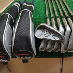 Adams Idea Tech A4R Golf Iron Set 3H,4H,5-PW,GW Regular Flex Graphite/Steel